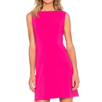 kate spade new york Stretch Crepe A-Line Dress in Sweetheart Pink