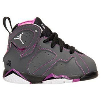Girls' Toddler Air Jordan Retro 7 Basketball Shoes