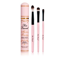 Too Faced Shadow Brushes Essential 3 Piece Set at BeautyBay.com