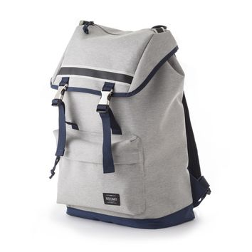 Bromo Barcelona 2 Tone  600D Polyester Water Resistant Backpack Alpha