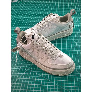 Nike Air Force 1 Low 90/10 All Star 2018 Silver Shoes - Sale