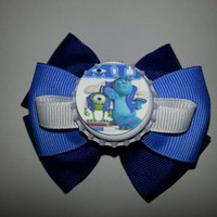 CUSTOM Disney Bows Monster University Monster by SnFBowCreations