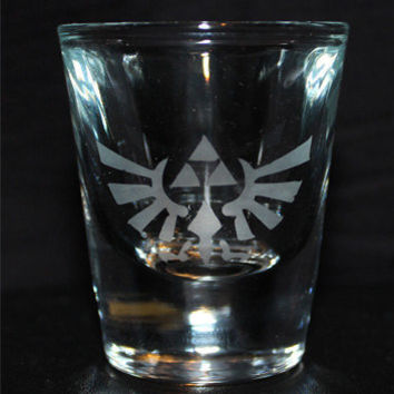 Shot Glass: Zelda
