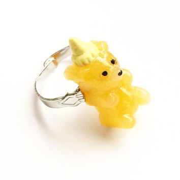 Honey Bear Ring