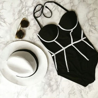 New Arrival Beach Summer Swimsuit Hot Sexy High Waist Bikini [11586164367]