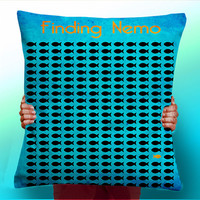 Finding Nemo Fish - Cushion / Pillow Cover / Panel / Fabric