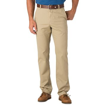 Skipjack Classic Fit Pant in Sandstone Khaki by Southern Tide