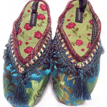 Cloisonne Slippers by Goody Goody