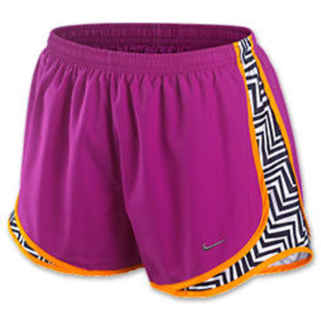 Nike Printed Side Panel Tempo Women's Running Shorts