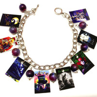 Tim Burton Themed Charm Bracelet