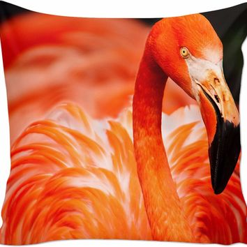 ROCP Pink Flamingo Couch Pillow