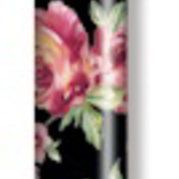 Midnight Rose Floral Writing Pen with Touchpad Stylus