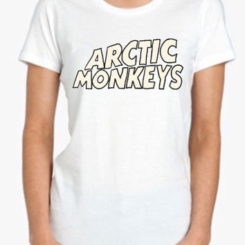 Arctic Monkeys Screenprinted Apparel Brandy Melville Inspired Design Clothing Unisex Adults Women Tees