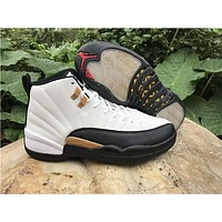 Air Jordan 12 Chinese New Year Men Women Basketball Shoes High Quality 12S XII CNY Black White Sport Sneakers With Box