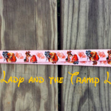 Disney Inspired Lady and the Tramp Lanyard