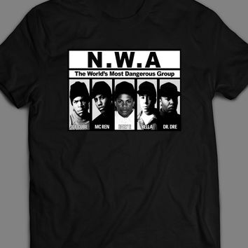 RAP GROUP N.W.A VINTAGE T-SHIRT