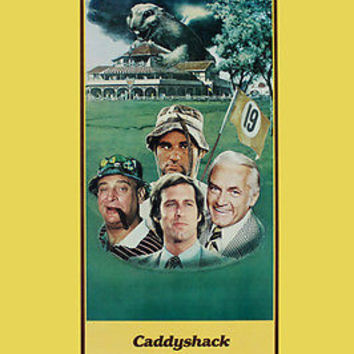 CADDYSHACK movie poster COMEDY CLASSIC chase dangerfield murray FUN 24X36