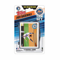 This is the official 2011 Topps MLB Team set - New York Mets