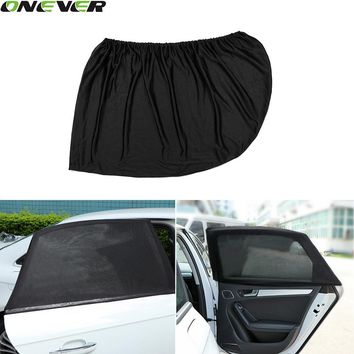 Adjustable Auto Car Side Window Sun Shade Black Mesh Solar Protection Covers Visor Shield Sunshade UV Protection