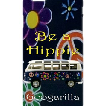 """Be a Hippie"" Cell Phone Cases by #Googarilla. Great Design Style."