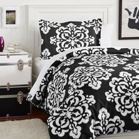 Ikat Medallion Duvet Bedding Set with Duvet Cover, Duvet Insert, Sham, Sheet Set + Pillow Inserts