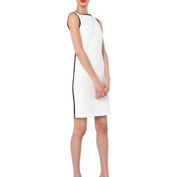 Isaac Mizrahi New York Sleeveless Embroidered Dress
