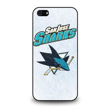 SAN JOSE SHARKS LOGO iPhone 5 / 5S / SE Case Cover