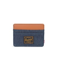 HERSCHEL SUPPLY CO CHARLIE DARK DENIM WALLET