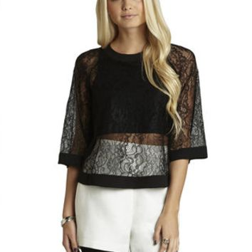 BCBGeneration Black Top