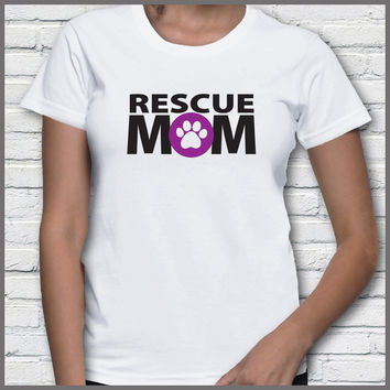 Animal Rescue Mom T-Shirt