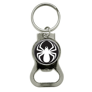 Spider White - Spiderman Bottle Opener Keychain