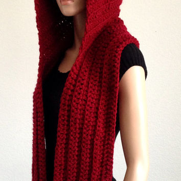 One Skein Knitting Pattern : Best Crochet Scoodie Products on Wanelo