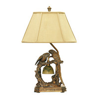 Dimond Lighting Twin Parrots Table Lamp in Atlanta Bronze