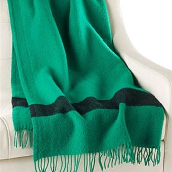 Caribou Throw by Hudson's Bay Company | Green