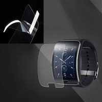 New Watch Front Transparent Soft LCD Screen Guard Protectors Film for Samsung Galaxy Gear S R750 EM88