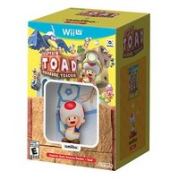 Captain Toad: Treasure Tracker + Toad amiibo Nintendo Wii U