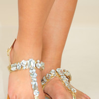 Sparkle In My Step: Gold
