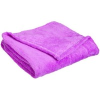 Northpoint Faux Fur Throw Blanket, Purple