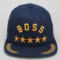 Undefeated Boss Snapback Hat- Navy One
