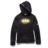 Under Armour Boys' Under Armour Alter Ego Batman Glow-In-The-Dark Storm Hoodie