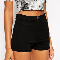 ASOS TALL High Waisted Stretch Shorts