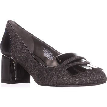 Bandolino Odonna Oxford Dress Pumps, Grey/Black, 7 US