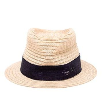 MAISON MICHEL   Jim Straw Hat   brownsfashion.com   The Finest Edit of Luxury Fashion   Clothes, Shoes, Bags and Accessories for Men & Women