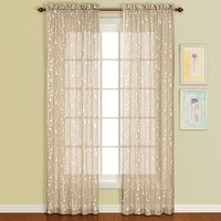 United Curtain Co. Savannah Window Panel - 51'' x 63''