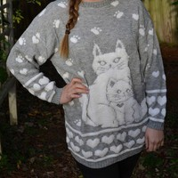 Grey Cat Sweater from Pegasus Crossing