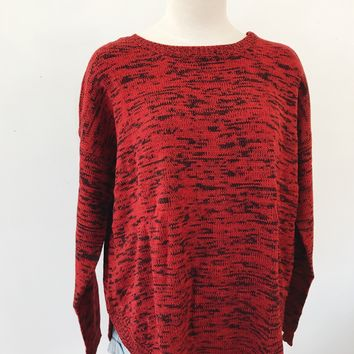 NORA SWEATER- RED