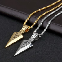 Jewelry Stylish Gift Shiny New Arrival Stainless Steel Strong Character Men Accessory Chain Necklace [10422078147]