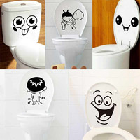 Decorative Bathroom Toilet Sticker
