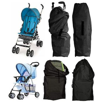 Baby Stroller Covers Infant Stroller Travel Bag Pram Protection Accessories Travel Helper Carriage Buggy Pushchair Protect Cover