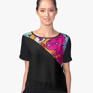 'PARTY ANIMAL CUT EDITION' Women's Chiffon Top by WEWEX